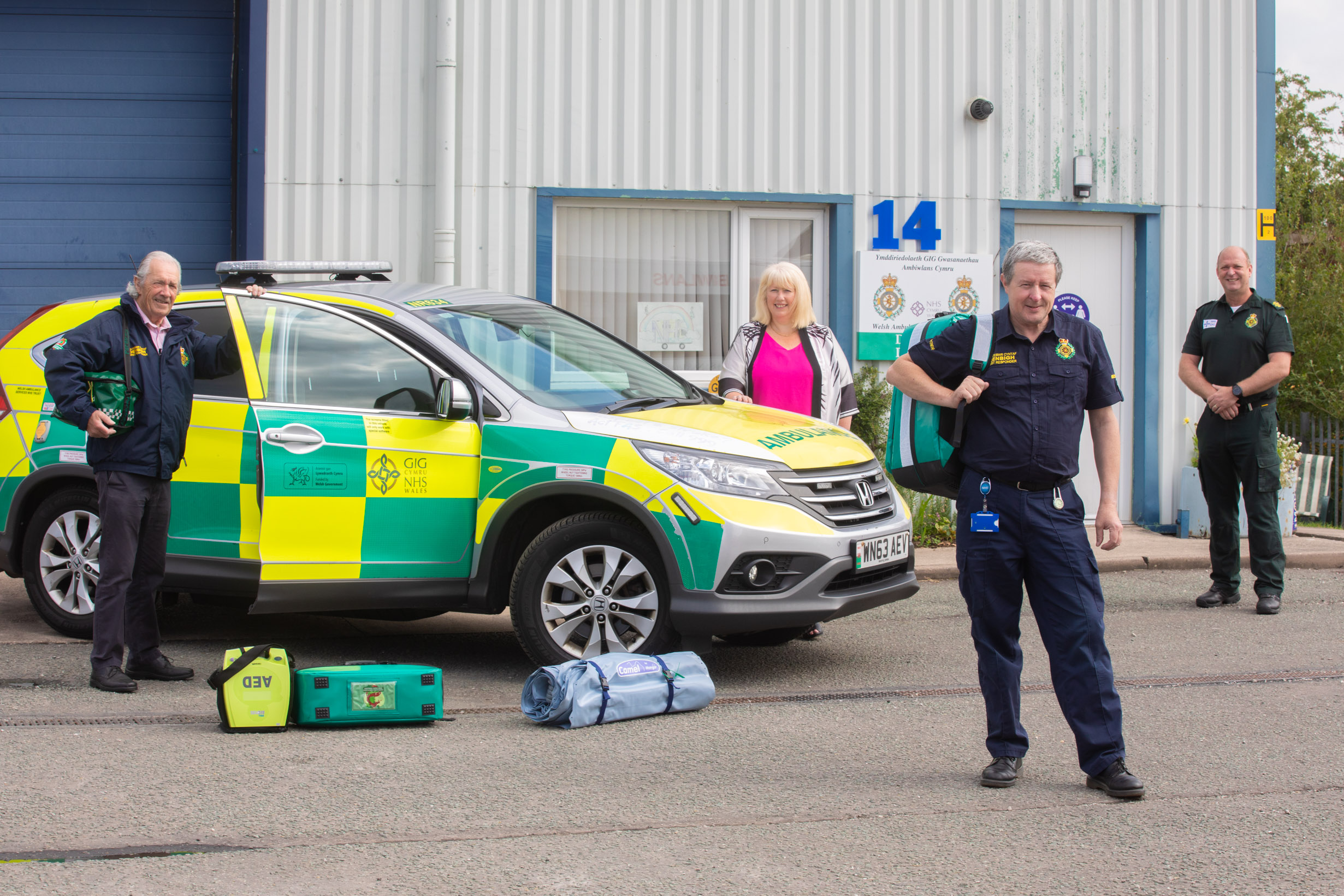 volunteer denbigh community first responders